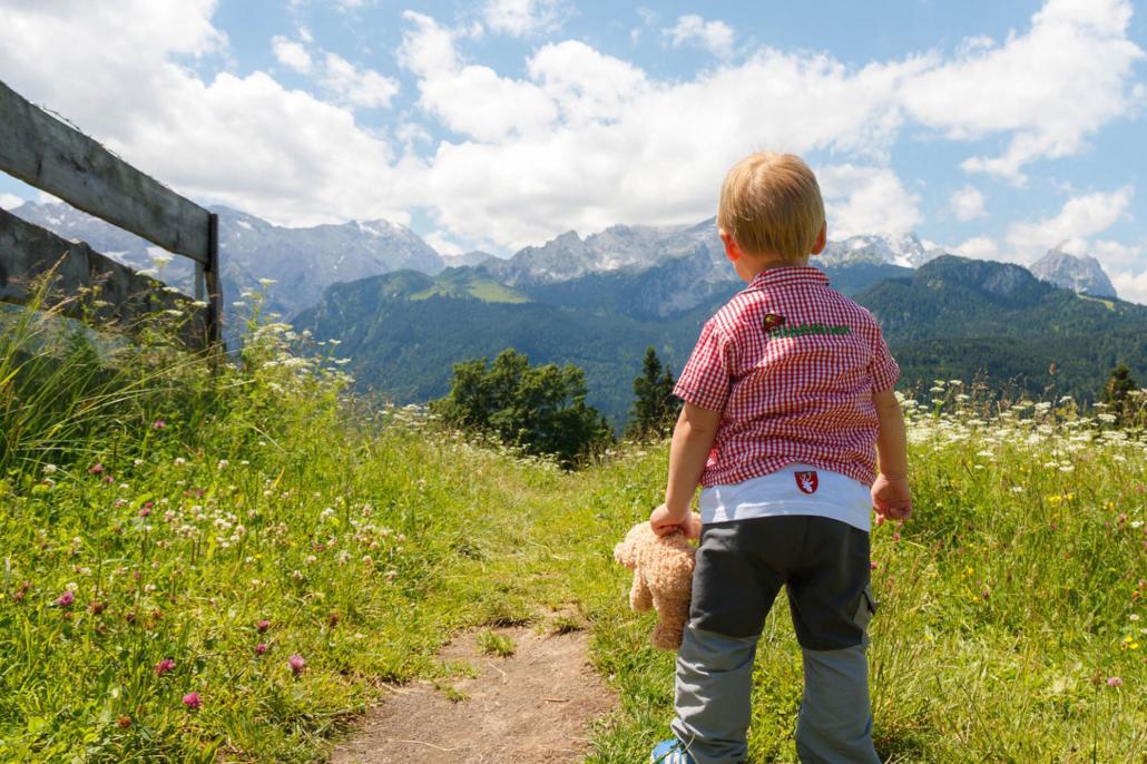 Bergwandern mit Kindern