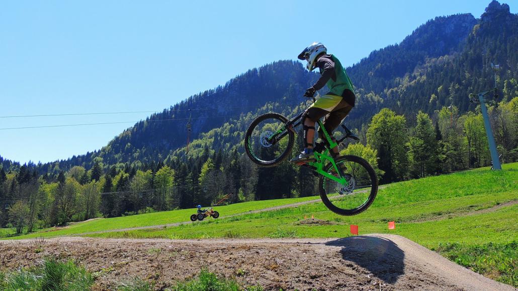 Bikerstrecke am Brauneck