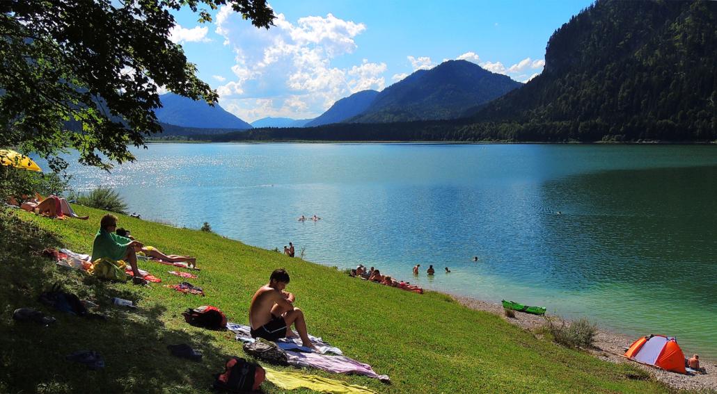 Sommer am Sylvenstein